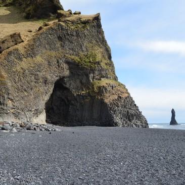 black ash sand iceland