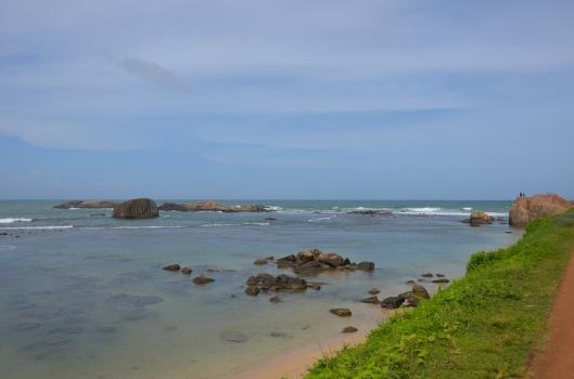 coastline Galle Southern Sri Lanka