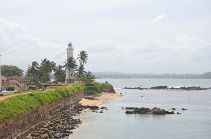dutch fort Galle view
