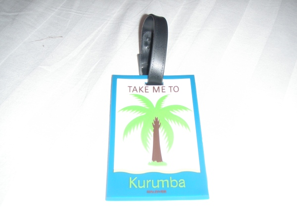 Kurumba luggage tag