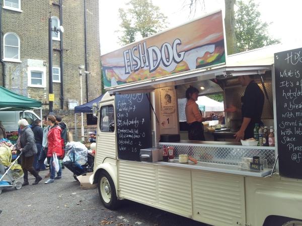 Fish Dog Brockley Market