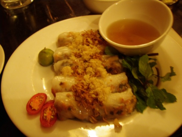 tapioca roll pork shrimp