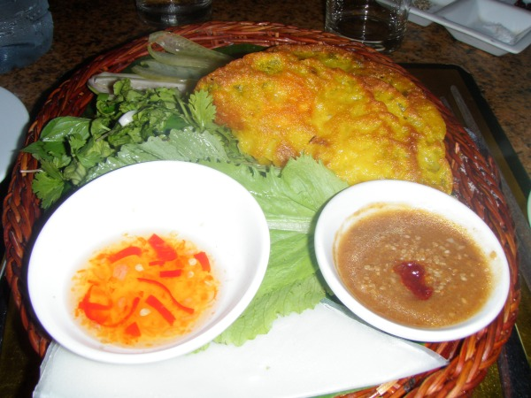 Vietnamese pancake Morning Glory