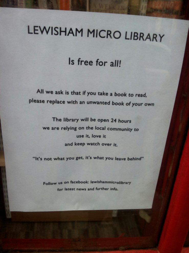 Lewisham library