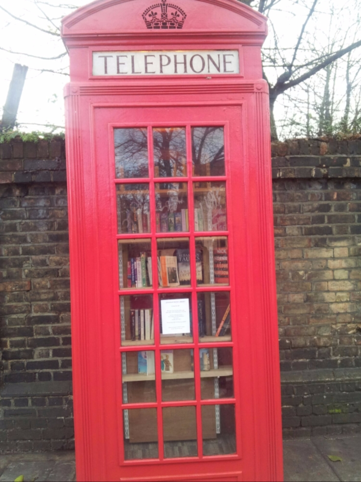 unusual red phone boxes