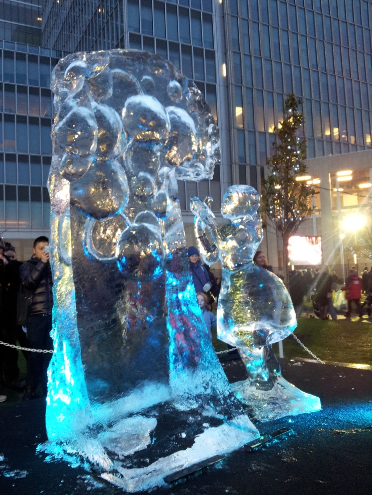 London Ice Sculpture Competition Festival