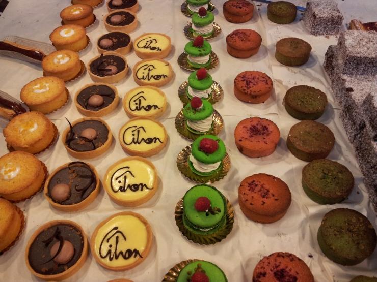 Comptoir Gourmand cakes