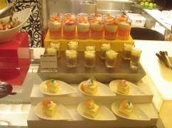 dinner dessert Shangri La Borneo