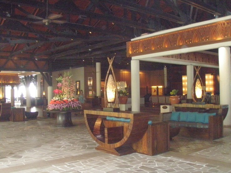 Tanjung Aru lobby