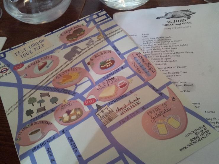 Eating London Food Tour