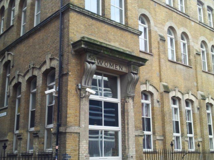 old shelter East London
