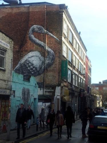street painting London