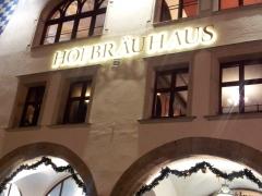 Munich beer house