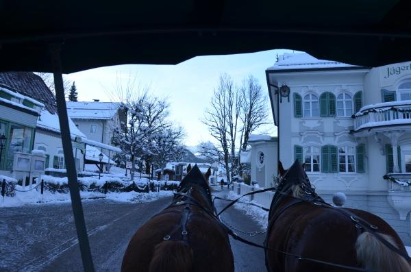 horse drawn carriage Neuschwanstein