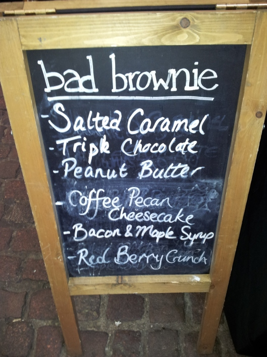 Bad Brownie flavours