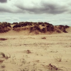 Holkham Bay sandy shore beach