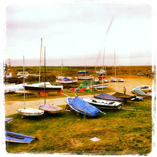 sailing boats North Norfolk