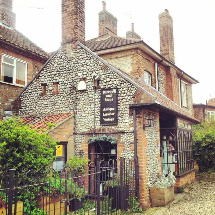 pebbledash architecture Norfolk