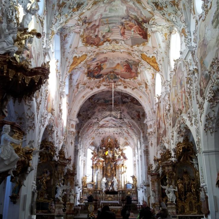 Baroque church Bavaria