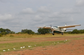 safari flight Tanzania