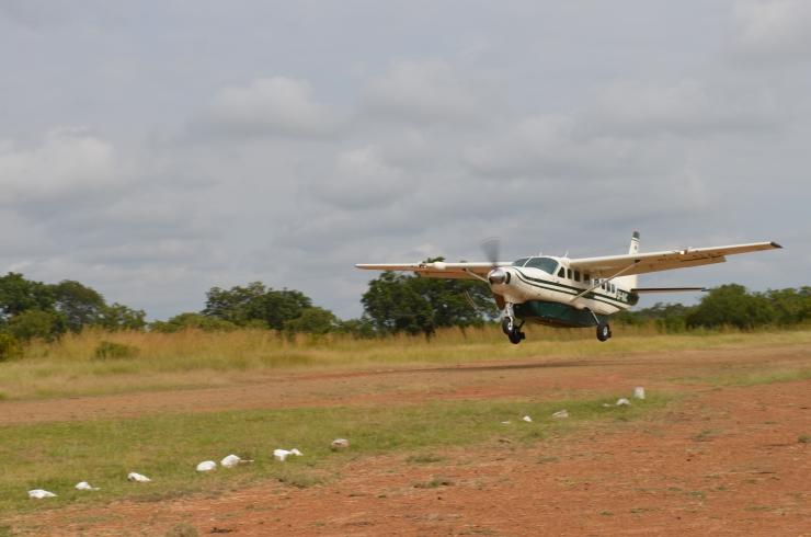 safari flight Tanzania