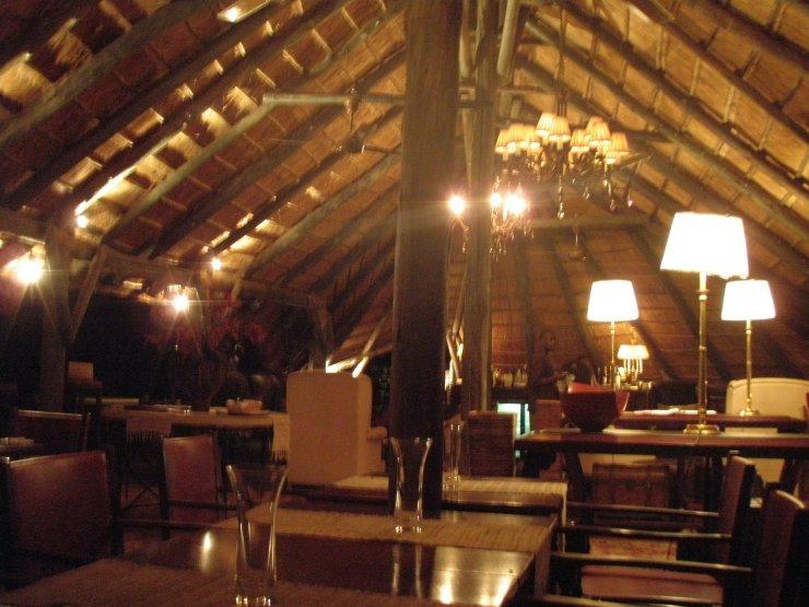 Selous Serena camp restaurant