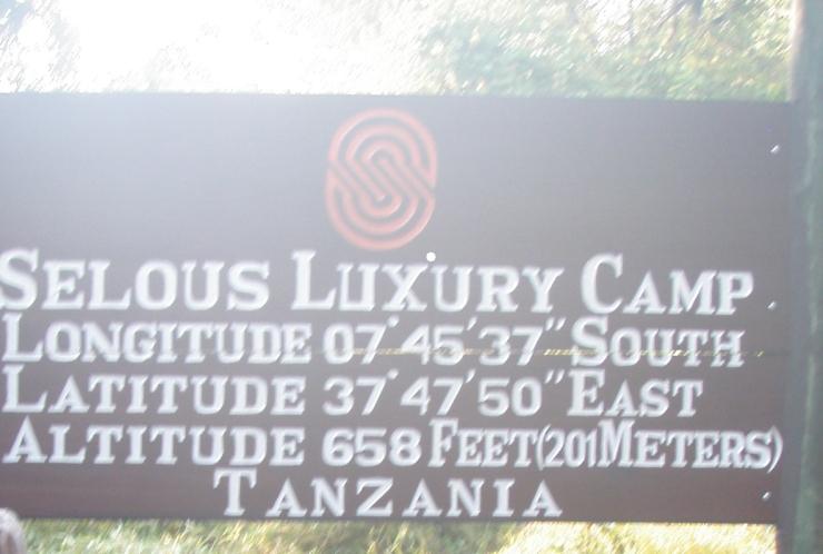 selous luxury camp safari lodge