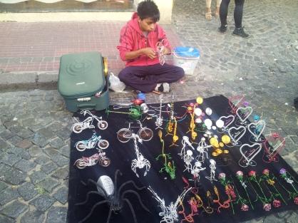 market stall San Telmo