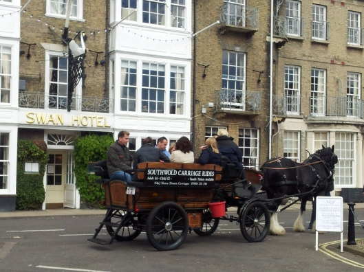 horse carriage ride Southwold