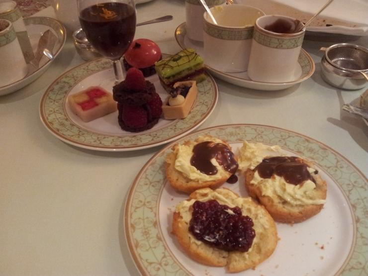 chocolate afternoon tea Park Room Grosvenor House