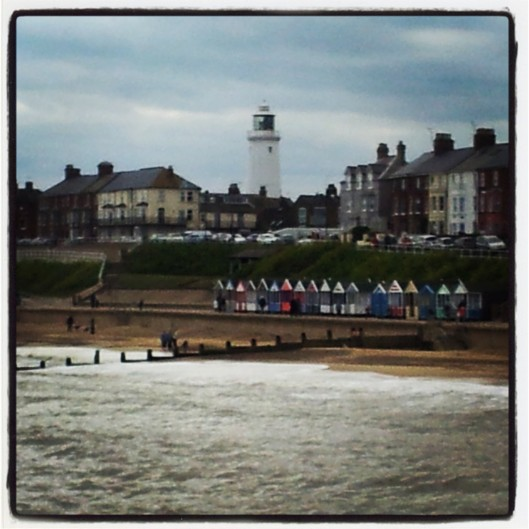 Southwold coastline lighthouse