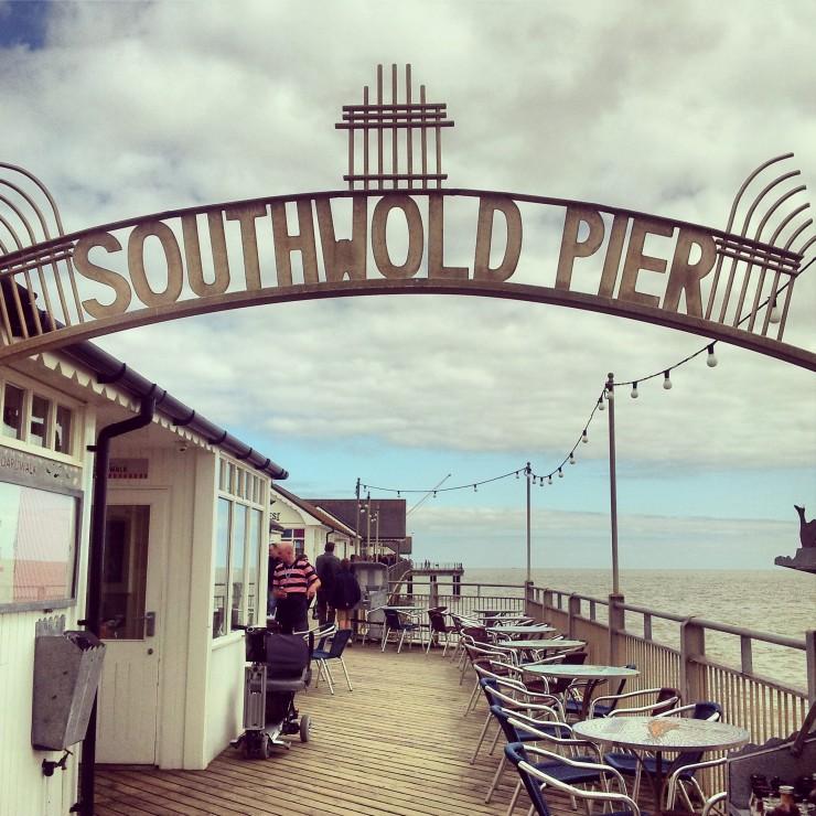 Southwold Pier sign