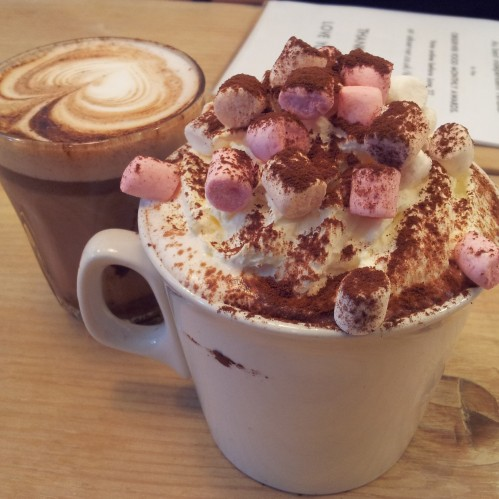 luxury hot chocolate 2 magpies bakery