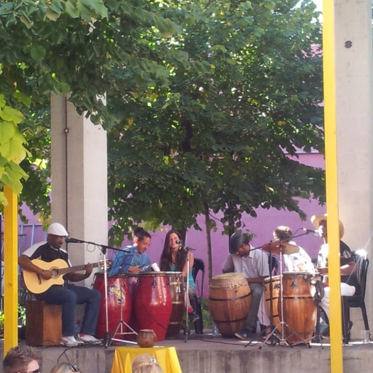 live music performance San Telmo Buenos Aires
