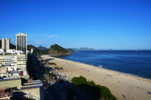 hotel view Copacabana Porto Bay Rio Internacional