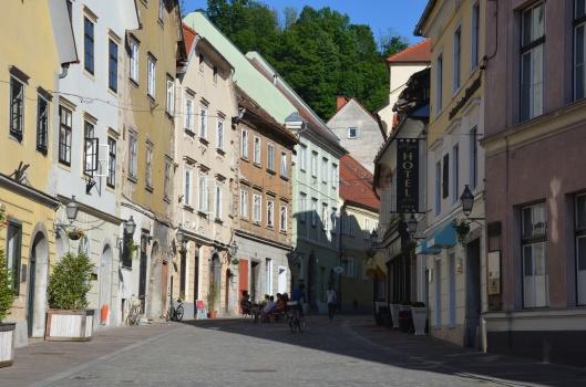 Ljubljana side streets