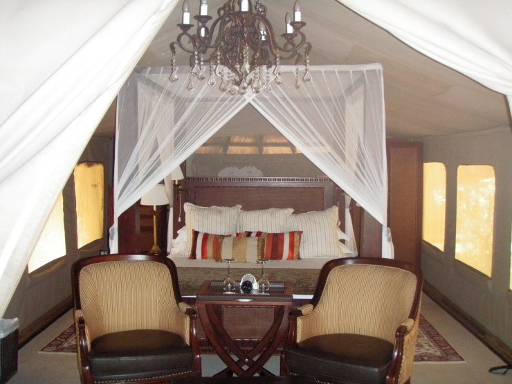 honeymoon luxury safari Selous