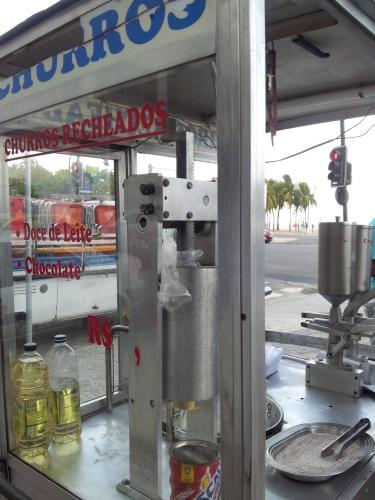 churros street food stall
