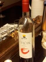 Cvicek national wine Slovenia