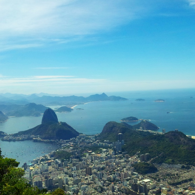 Rio de Janeiro skyline view
