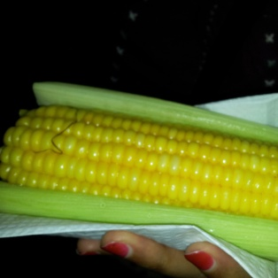 Rio sweetcorn streetfood