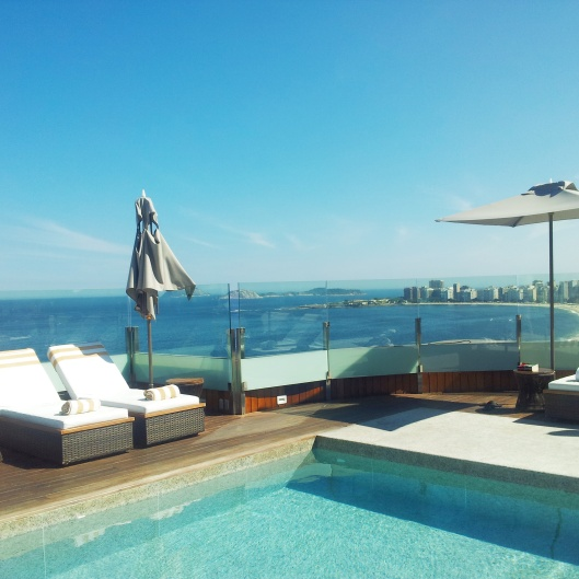 rooftop pool Porto Bay Internacional Rio