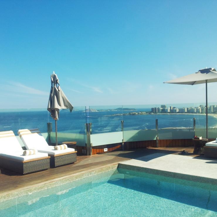 rooftop pool Porto Bay Internacional Rio