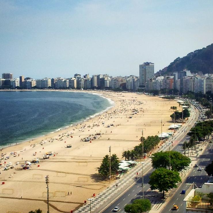Copacabana view Rio de Janeiro