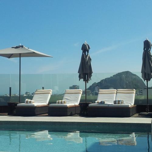 rooftop terrace pool Porto Bay Rio de Janeiro