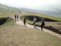 walking malvern hills