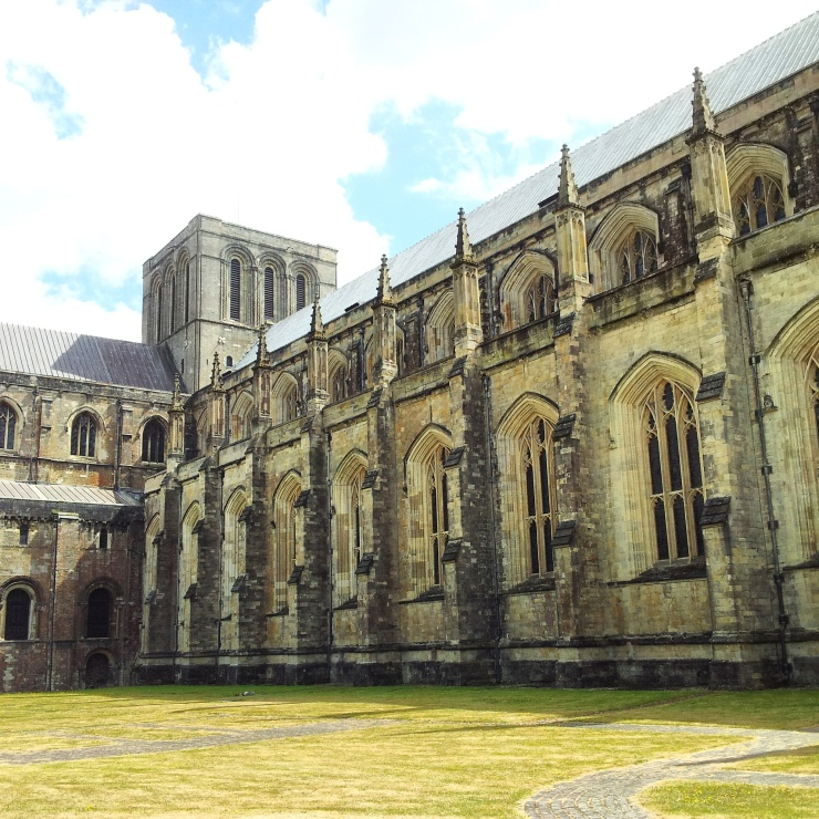 Winchester Cathedral grounds