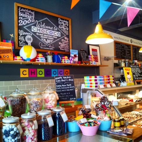 chococo chocolate shop winchester