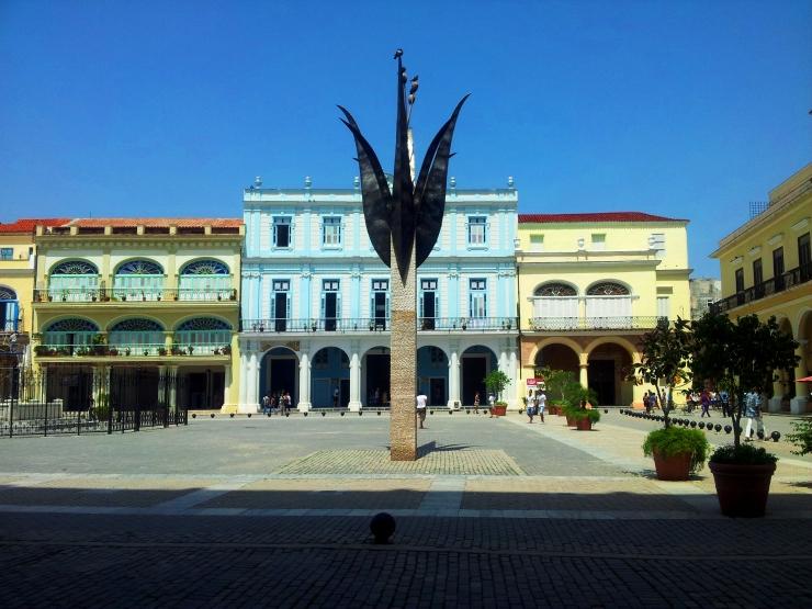 Piaza Vieja Old Square Havana