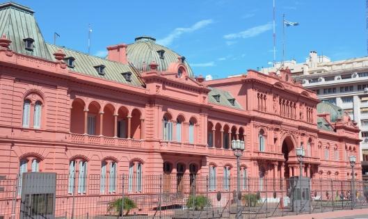 Casa Rosada Buenos Aires pink building